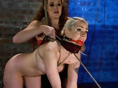 Lorelei Lee submits to Sabrina Foxs electrical domination